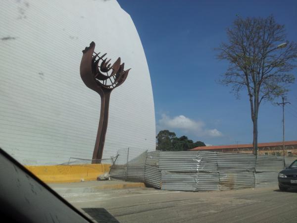 El santuario de Bolívar avanza